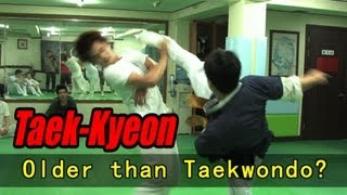 The Original Korean Martial Art - Taekkyeon (Hard Korea)