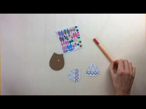 Pirouette Cacahouète 我的第一套創作遊戲包【我的貓頭鷹】(4歲以上)