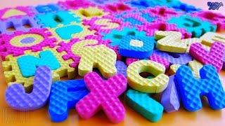 Abecedario en Español para Niños|Aprenda el Alfabeto ABC |Rompecabezas de Abecedario| Puzzle