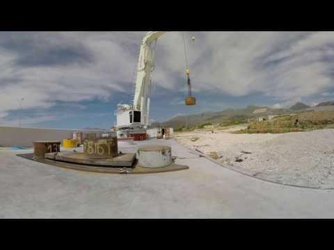 Sormec Knuckle boom AHC crane 360 video