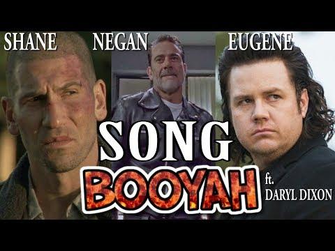 Negan, Shane, Eugene ft Daryl Dixon  BOOYAH