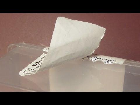Как снять остатки клея от наклейки без химии...