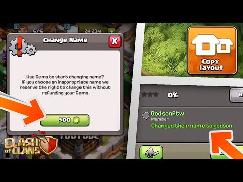 NEW: Unlimited Name Changes, Copy Base Button, CC Sleep Mode & More! | Clash Of Clans TH12 Update