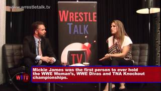 Mickie James shoots on signing with WWE