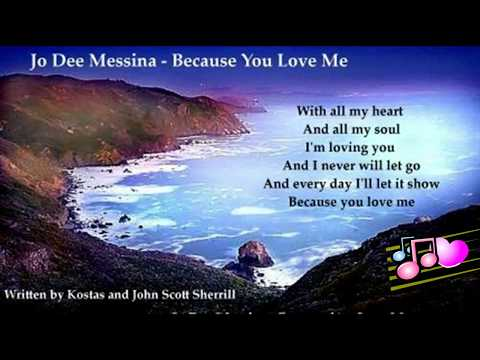 Jo Dee Messina - Because You Love Me