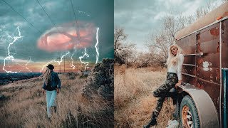 Utah Behind the Scenes Photoshoot w/ Before & After. Inspired by Stranger Things