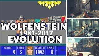 Evolution of Wolfenstein Games 1981-2017