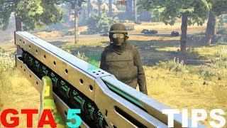 GTA 5 GUNRUNNING DLC 8 TIPS, TRICKS, RAILGUN, ROCKET BIKE GTA 5 ONLINE