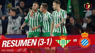 Resumen de Real Betis vs RCD Espanyol (3-1)