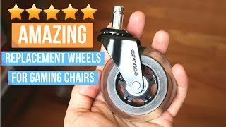 The Best Rollerblade Office Chair Caster Wheels: Ultimate Gaming And Office Chair Upgrade