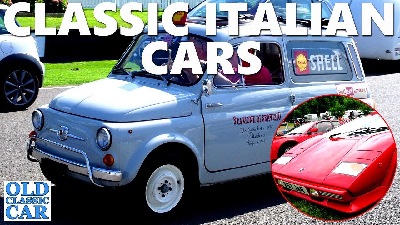 Classic Italian cars in photos   Lamborghini, FIAT, Ferrari, Lancia & other classic cars from Italy