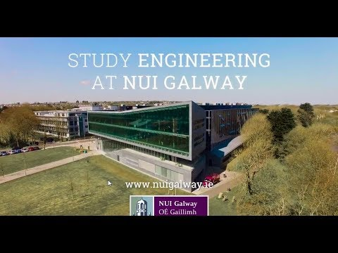 Study Engineering at NUI Galway