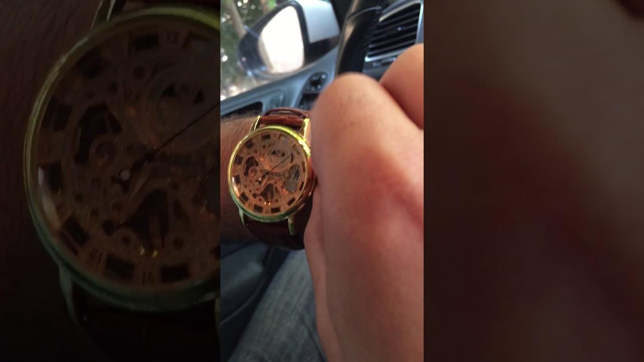 422983976 طريقة تشغيل الساعات الميكانيكية (ساعات النبض) - YouTube
