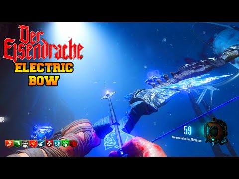 """BLACK OPS 3 ZOMBIES """"DER EISENDRACHE"""" ELECTRIC BOW UPGRADE TUTORIAL (BO3 Zombies)"""