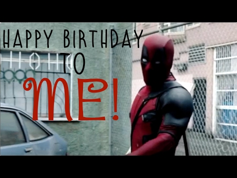 Happy Birthday From Deadpool Gifs Tenor