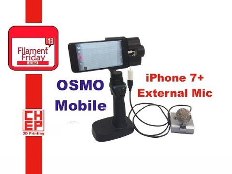 check out 1a2bf 2c8d3 DJI Osmo Mobile - iPhone 7 Plus External Microphone Problem Solved