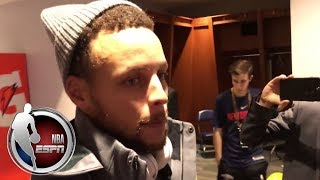 Stephen Curry talks about his ankle injury | ESPN