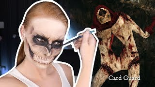 SUPER SPOOKY MAKEUP TUTORIAL | Card Guard | Alice: Madness Returns