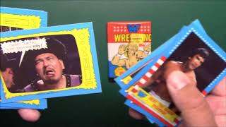 Ben's Pack A Day #148 1987 Topps WWF Wrestlemania III