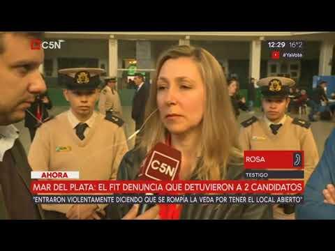 Myriam Bregman repudia el allanamiento ilegal a local del PTS en Mar del Plata
