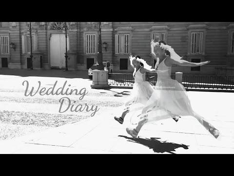 馬德里遇見愛 Wedding Diary. Videoclip en Madrid.
