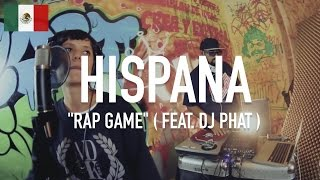 Hispana ( Mamba Negra ) x DJ Phat - Rap Game | TCE MIC CHECK