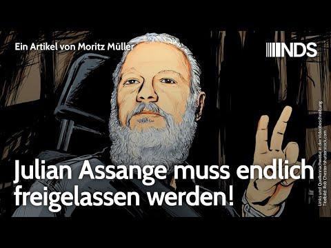 Julian Assange muss endlich freigelassen werden