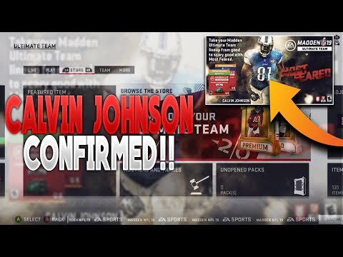 MOST FEARED CALVIN JOHNSON CONFIRMED! RELEASE DATE CONFIRMED! NEW SOLOS!| MADDEN 19 ULTIMATE TEAM