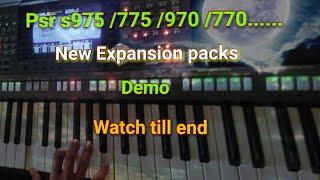 Expansion Yamaha PSR-775 video, Expansion Yamaha PSR-775 clips