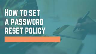 QNP170 - How to Set a Reset Password Policy
