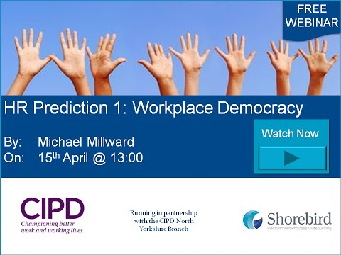 Workplace Democracy on Demand Webinar