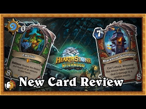 Hearthstone: New Expansion Cards - The Witchwood (Ep. 3)