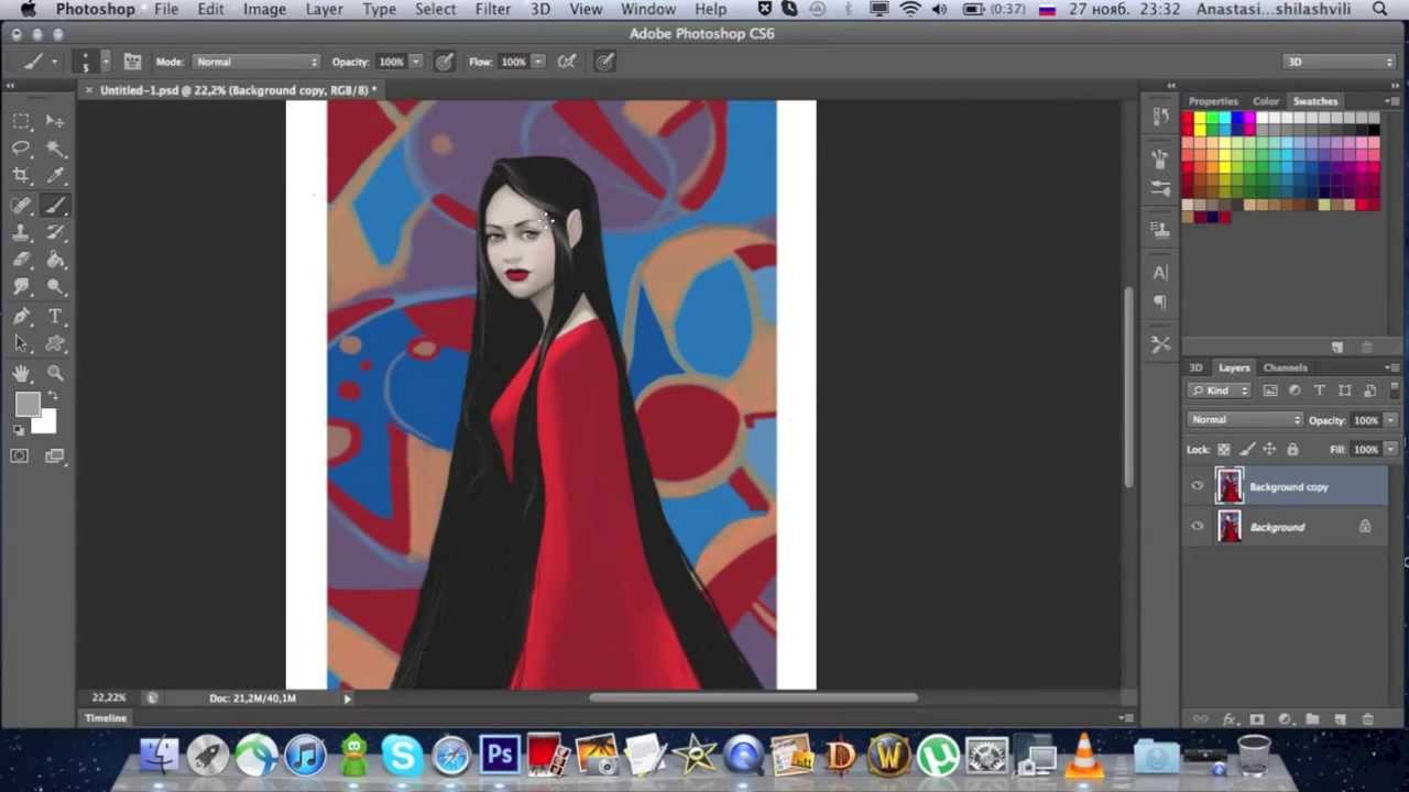 рисование в фотошопе cs6
