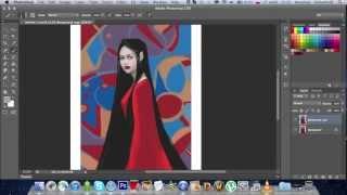 Speed Digital painting Photoshop CS6/ Рисование в Фотошопе