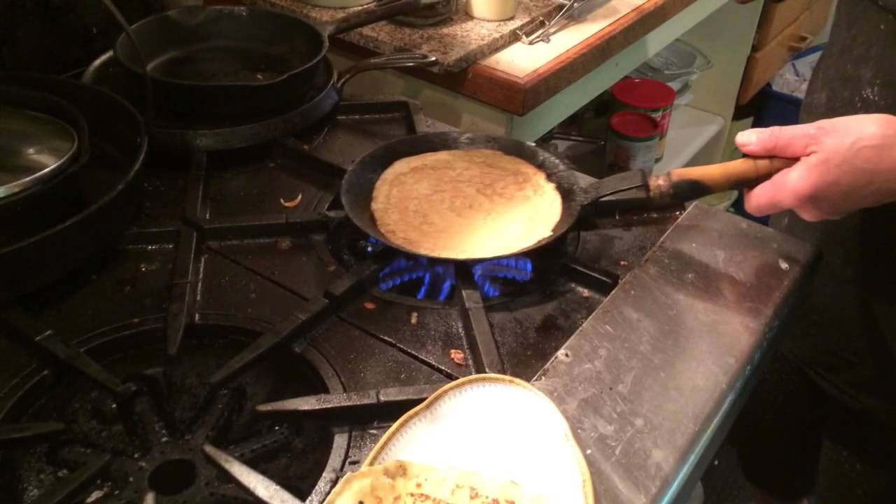 How To Make Crepes In A Proper Crepe Pan Gingerbread Cottage B B Youtube