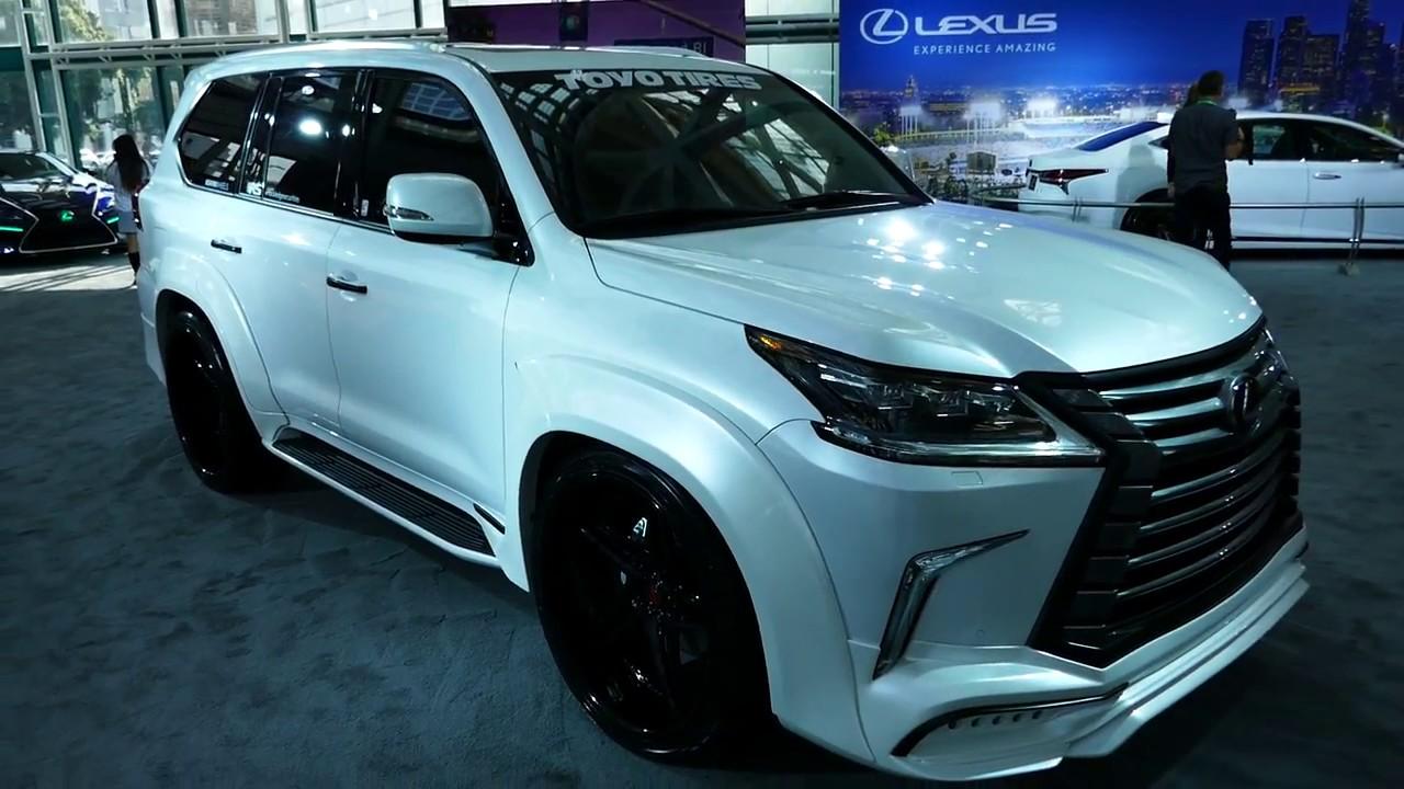 Custom New 2018 Lexus LX 570 (LX570) SUV - Black Wheels ...