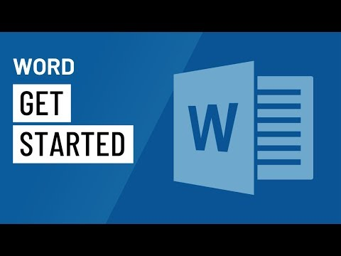Word 2016: Getting Started with Word