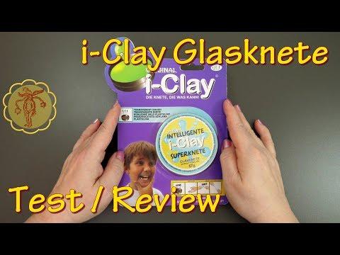 Slime-Review/Test: i-Clay Magische Superknete Glasknete von NanuNana