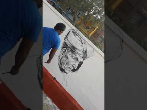 Artcity wall painting Publicity