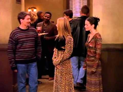 FRIENDS - Jennifer Aniston as Rachel Green - knocking Danny's FratBo all over park :)