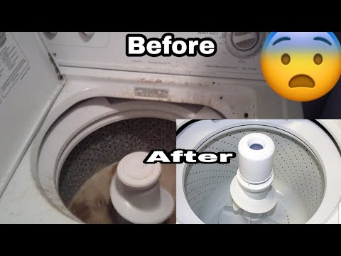 How to Clean your Washing Machine|| Must have Things for a newborn|| Clean with Me Motivation