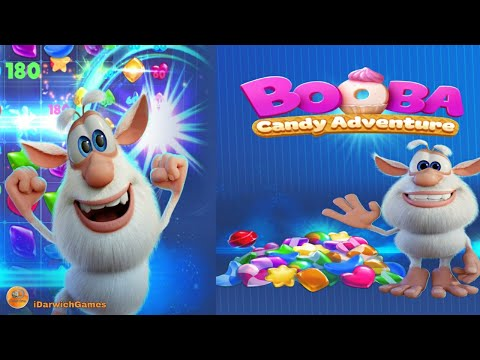 Booba Candy Adventure - Gameplay (iOS & Android)
