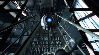 Portal 2 Xbox 360 Gameplay video - Start of game - Part 2 HD