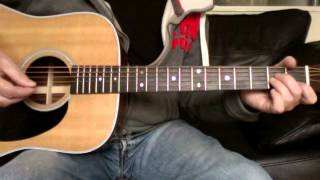 Paul Weller - Sunflower (Acoustic Guitar Lesson)