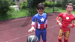 Basket Maçı Penaltı Challenge Kaptan Amerika Vs. Iron Man
