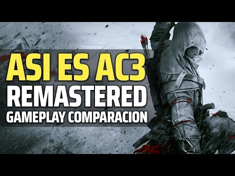 ASÍ ES ASSASSIN'S CREED 3 REMASTERED | GAMEPLAY Comparación (Fecha de salida, Edición Especial) thumbnail