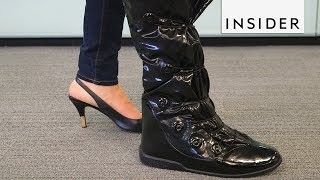 We Tried Boots that Protect Your Heels from Rain
