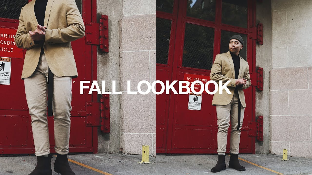 AUTUMN/FALL Outfit Ideas For Men | Fall Look Book 1