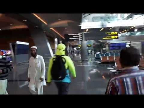 Arrival Of Hamad International Airport Doha Qatar