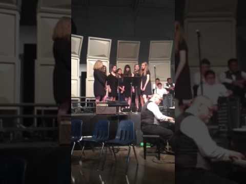 Dallas Lutheran School Fine Arts Night Middle School Girls